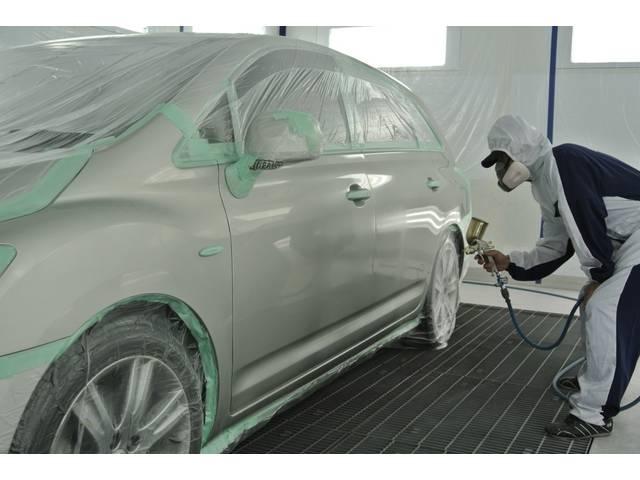 最新ブースの中でほこりを完全にシャットアウト、新車のような塗装に仕上がります。