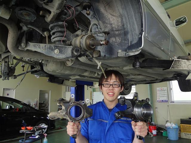エンジン交換等の重整備も日進モータースなら安心です。リサイクル品やリビルト品もご提案します!