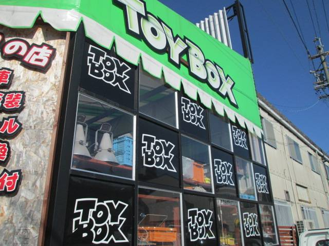 facebookのページhttps://www.facebook.com/TOYBOX.CAR