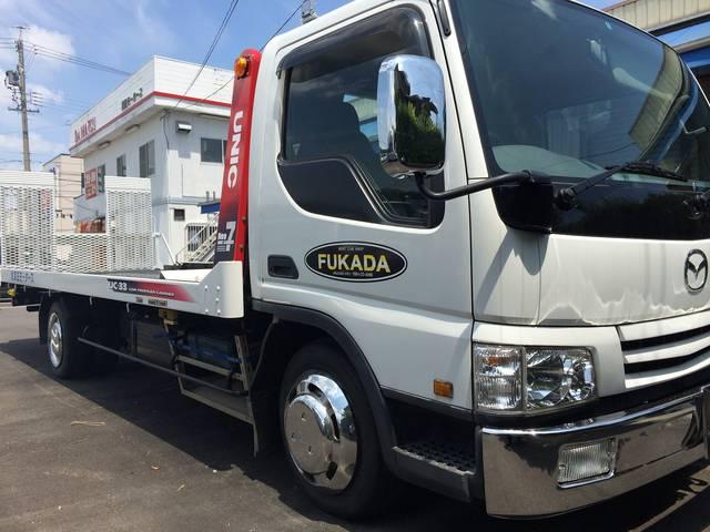 積載車ございます。岡崎で事故や故障の際も安心♪スグに駆けつけます。