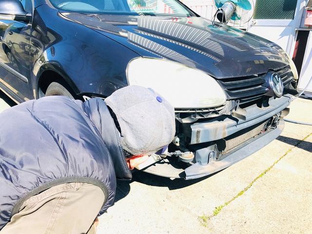 小さな凹み・事故対応も可能です!保険取り扱いやレンタカー貸し出しもATHERSお任せください!