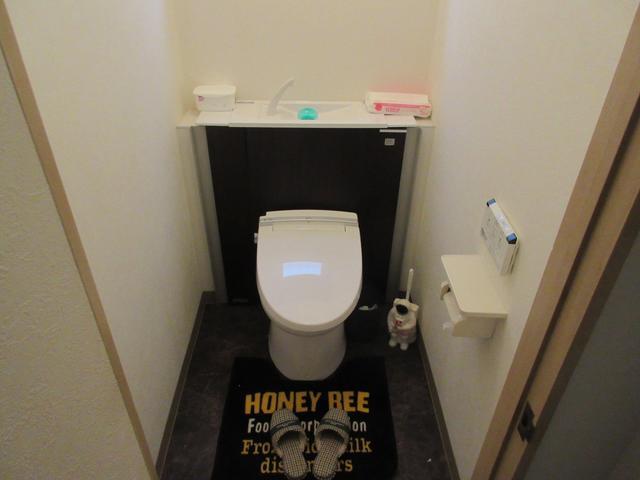 トイレも綺麗にしております!