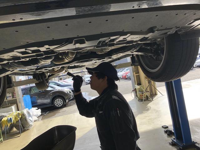 技術力の高いスタッフがあなたのお車を全力サポート