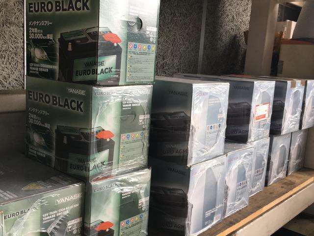 輸入車専用バッテリーなども多数準備しています。