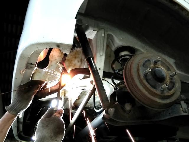 ガス・電気熔接修理などもお任せ下さい。様々なトラブルに対応!