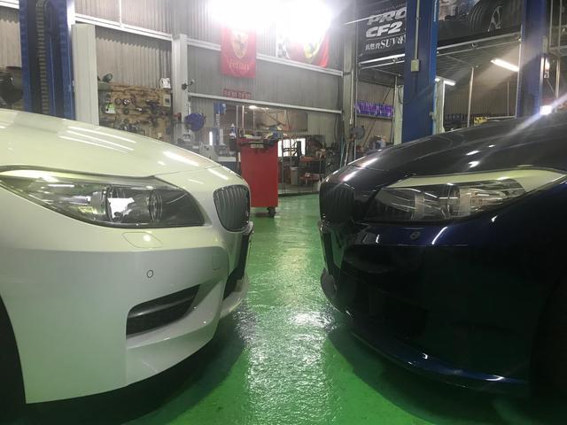 BMWなど輸入車も多数ご入庫いただいております