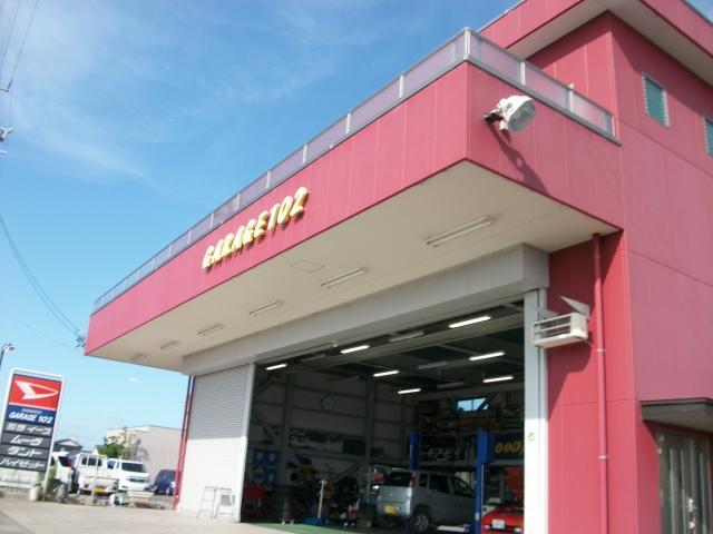 西尾市今川町の『GRAGE102』です!2012年創業のキレイな店舗でお客様をお待ちしております♪