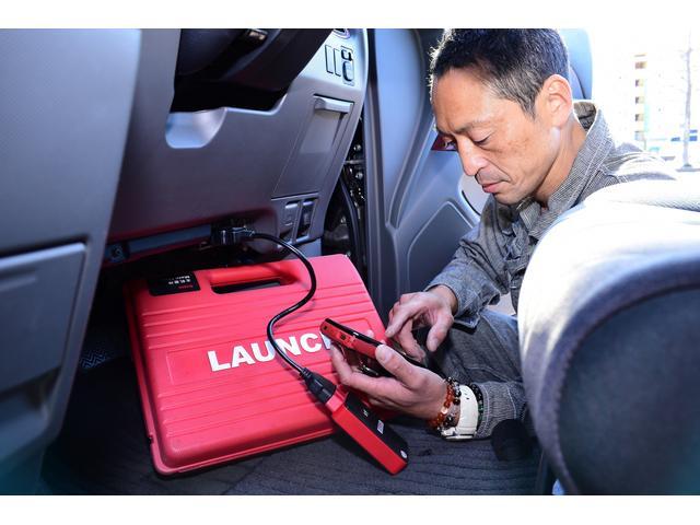当店のコンピュータ診断機です。車種に合わせて診断機を用意しておりますので多くのお車に対応しております
