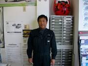 代表取締役社長 自動車検査員 高田 博司