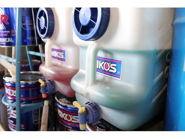 エンジン冷却水交換も行っています。1年~2年が交換目安です!