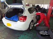 軽自動車から小型車までのタイヤ交換はお任せ!
