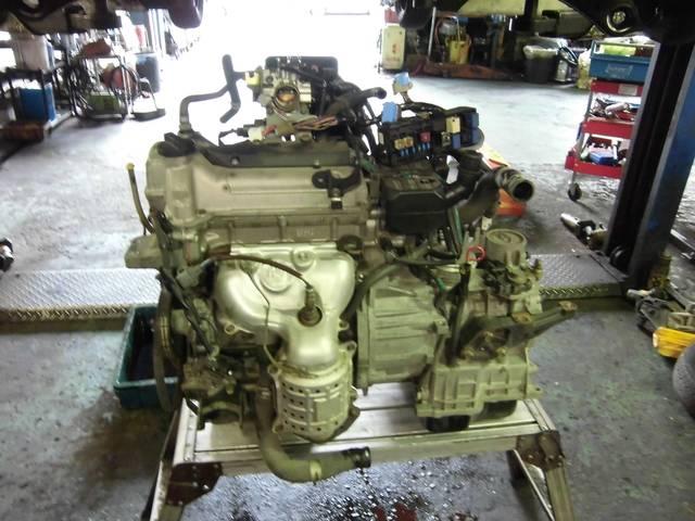 エンジン載せ替えしています!重整備もおまかせください!