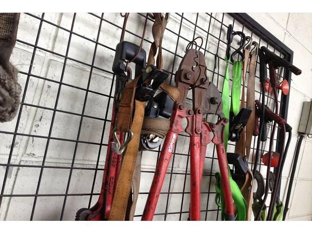 壁掛け工具!整理整頓してます。