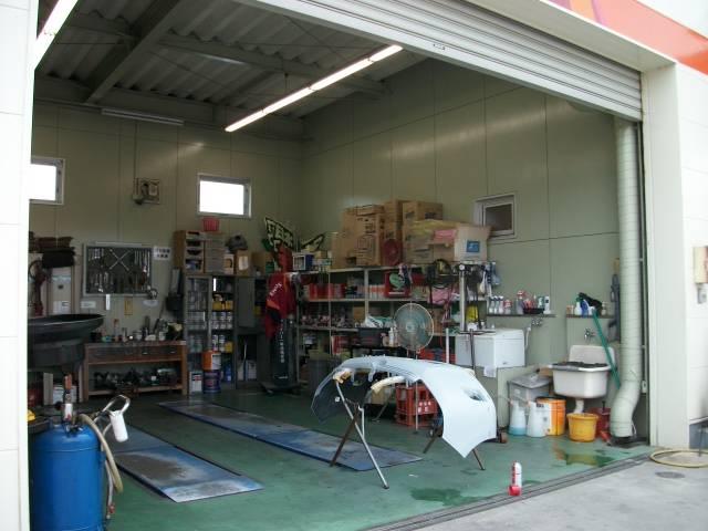 スタンドですがしっかりと自社認証工場完備です!