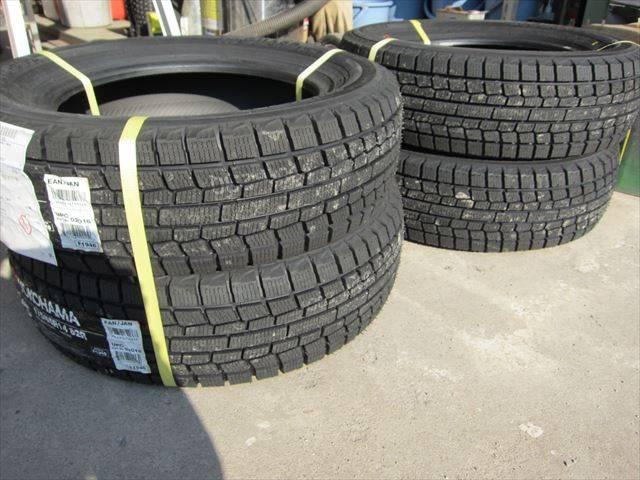 各種タイヤの交換も承ります!御注文も受付けておりますので、お気軽にお問合せ下さい!