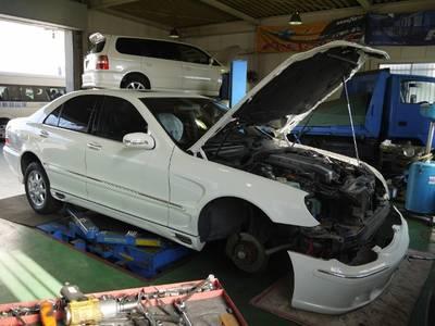 国産車に限らず、満足な整備が出来る!