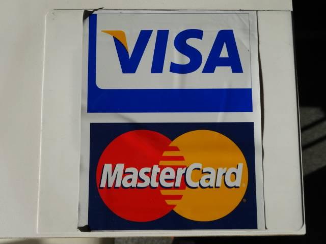 クレジットカードも対応しております!