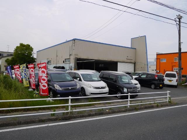 名二環甚目寺南ICを津島方面へ約5分。ご来店の際は、メールまたは電話でご連絡ください。