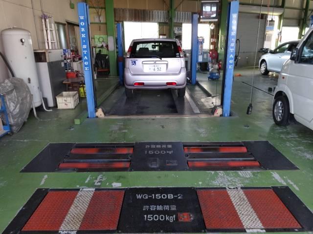 ★検査ラインで安心の車検を実施しています★