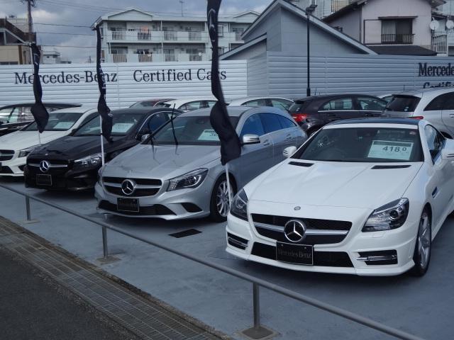 100項目の点検・整備を実施した「サーティファイドカー」高品質の認定中古車を常時30台以上展示
