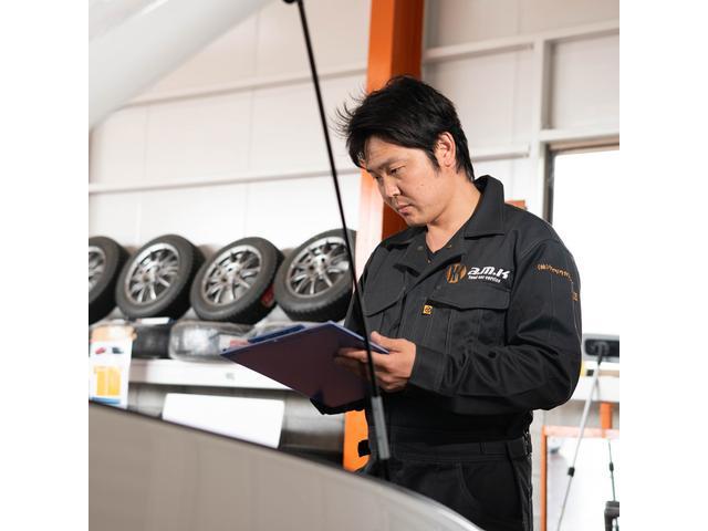 細かな点検・確認を行い、最適なサービスをご提供しております。