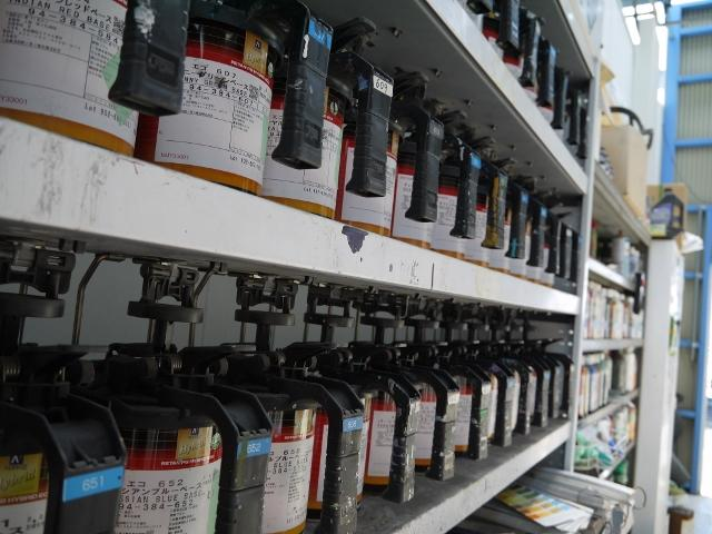 塗装作業に秀でたスタッフにより、ご満足のいく仕上がりを実現します!