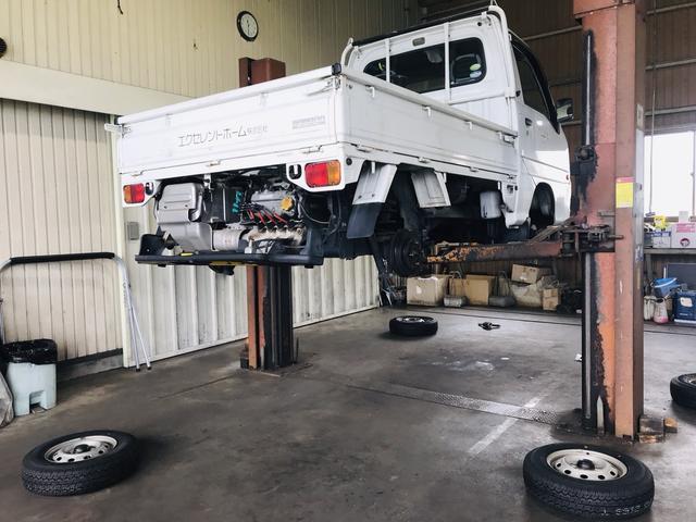 軽トラックから大型車まで幅広く対応します
