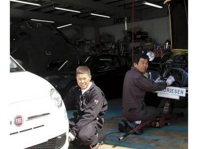 輸入車が大好きなスタッフONLY!嫌いでは務まらない責任のある仕事です。