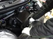 ラヂエター、エンジン関係パーツの交換・取付