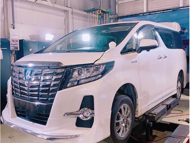認証工場で安心☆安全です。リフトも4基完備で車高の低いお車も安心☆