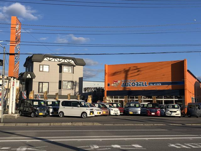 お客様が気軽にご来店出来るお店作りを目指しております☆オレンジの看板・建物が目印です!