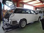 事故修理、鈑金塗装、フレーム修正