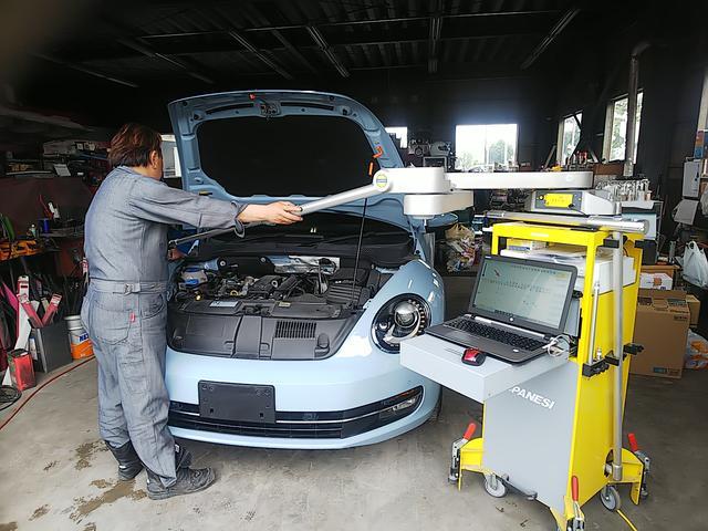 事故車の3D測定器!事故の立証責任もこれで証明できます!