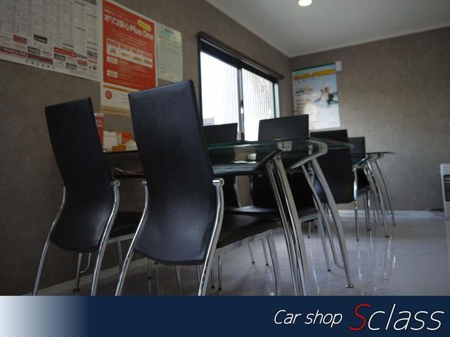 寛げる空間を目指した店内。清潔な空間でお客様をお待ちしております。