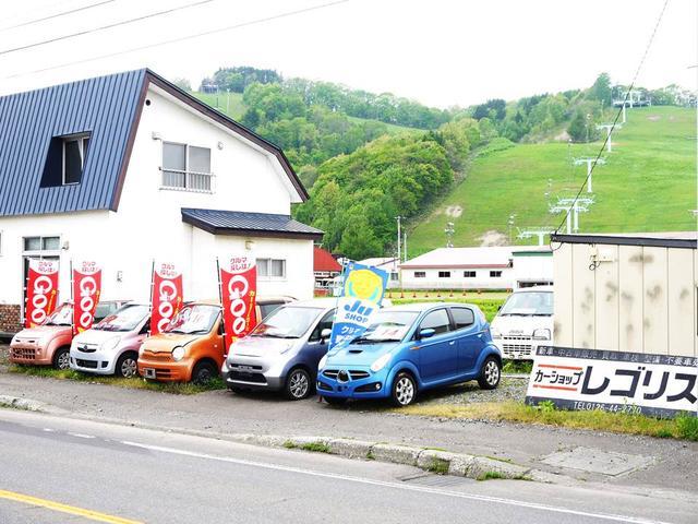 岩見沢市内から車で15分程の所に当店は御座います。判らない場合はご連絡下さい。ご案内いたします。