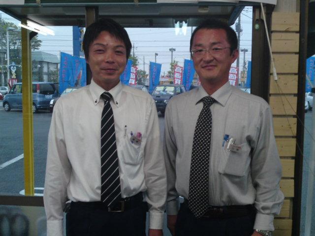 営業 三浦・齋藤 経験豊富なベテランスタッフがあなたの要望にお応え致します!