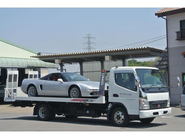 積載車完備。納車引き取りはもちろん、万が一の事故引き上げにも対応致します。