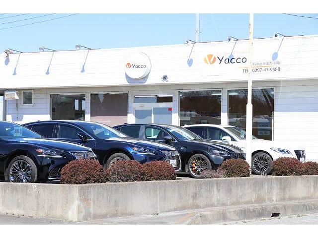 「茨城県」の中古車販売店「Car Sales yacco 守谷店 キャンピングカー レクサス 専門」