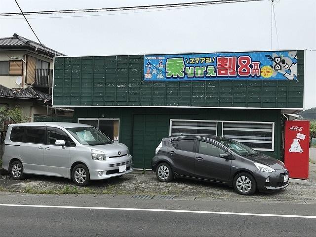 中古車販売も行っております。おクルマをお探しすることも可能です。