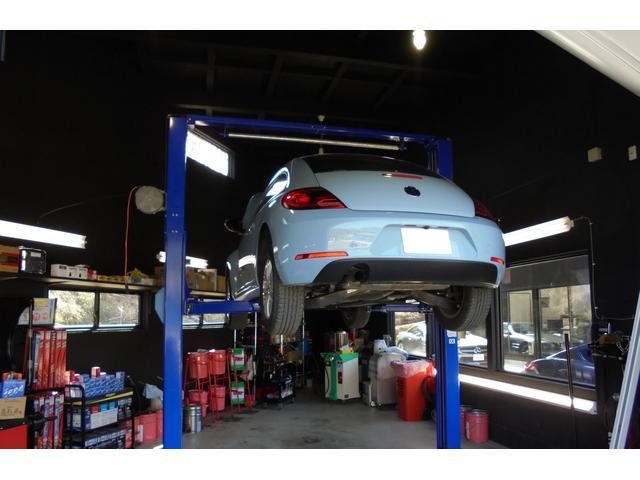 自動車整備・経験豊富な整備担当が自社工場にて、しっかり点検、整備をさせていただきます。