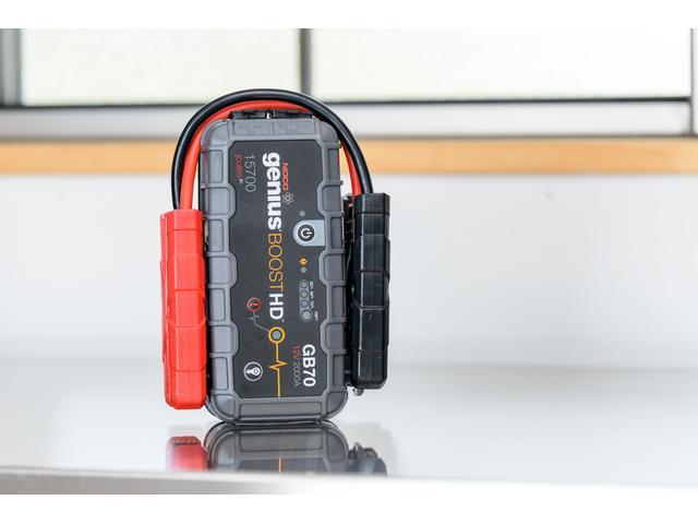 NOCO grnius BOOST HD ジャンプスターター バッテリーあがりご相談ください。