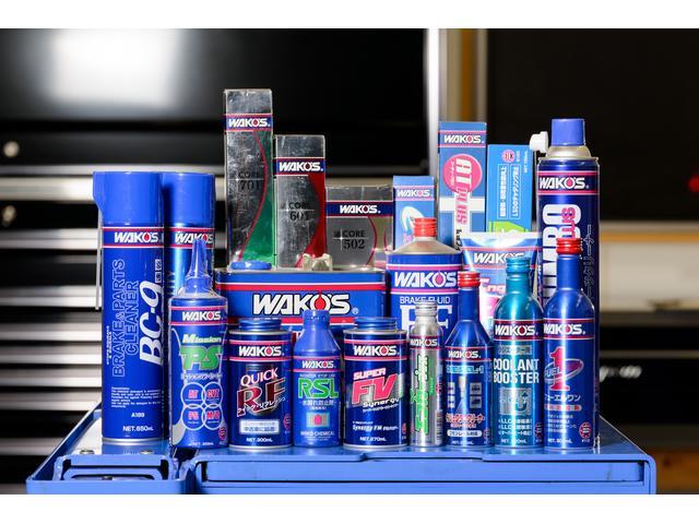 WAKO'S製品取り扱っております。ベーシックな銘柄からTRやWR-Rなど高性能オイルも在庫あり