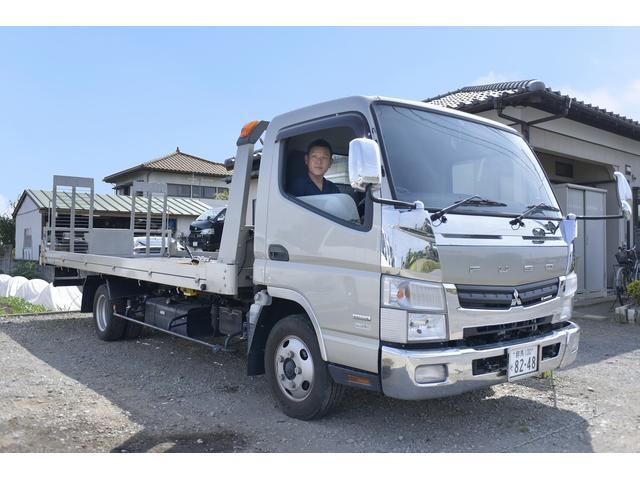 セイフティローダーで引取・納車可能。代車サービス有り