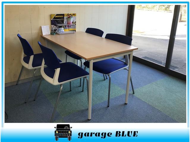 garage BLUE(4枚目)