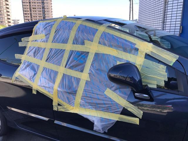 事故に遭ってしまった際も保険修理が可能です!