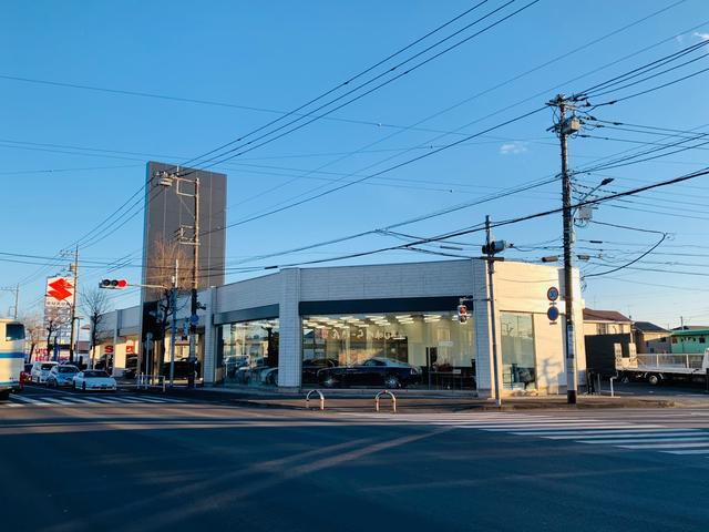 新青梅街道グリーンタウン入口交差点(旧ガリバー跡地)