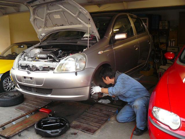 販売準備(エンジンオイル交換 各所点検・清掃)は行いますので安心です。