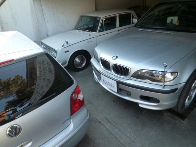 旧車、外車もお任せください。
