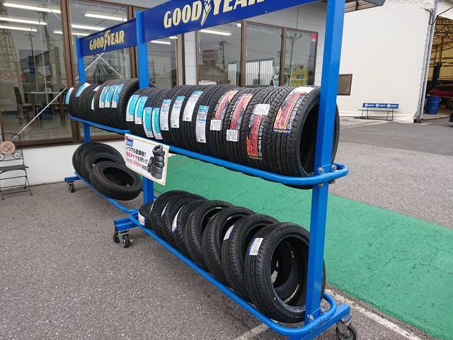 ウルトラ車検市原 タイヤが4本で8990円から お安く提供できます