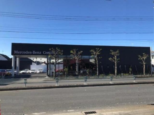 当店は、環状七号線内回りに面しています。↑この看板が目印!奥戸陸橋下の次の信号の先左側。